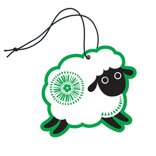 Air Freshener - Retro Sheep