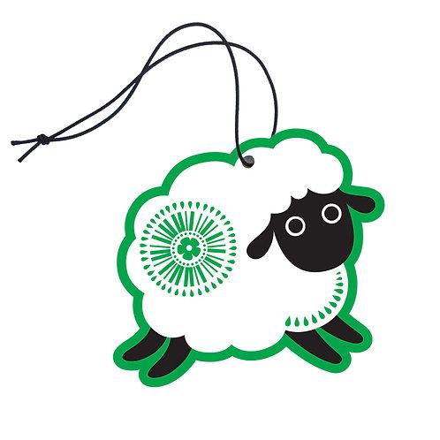 Air Freshener - Retro Sheep