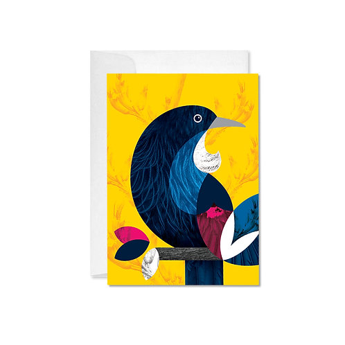A6 Greeting Card - Tui