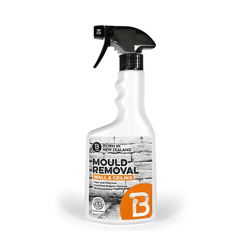 500ml - BioGro Certified  Wall & Ceiling Mould Removal