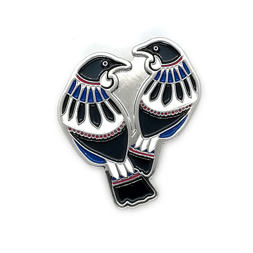 Lapel Pin - Scandi Tui