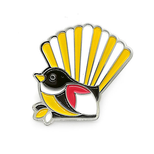 Lapel Pin - Iconic Fantail