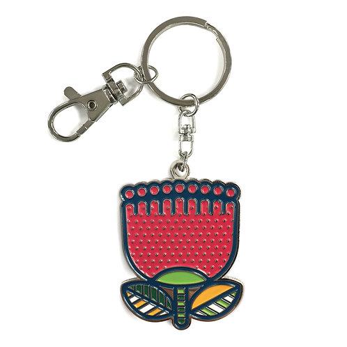 Key Ring - Pop Pohutukawa