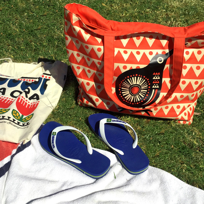 Celebrating Summer with DBL Beach Bag