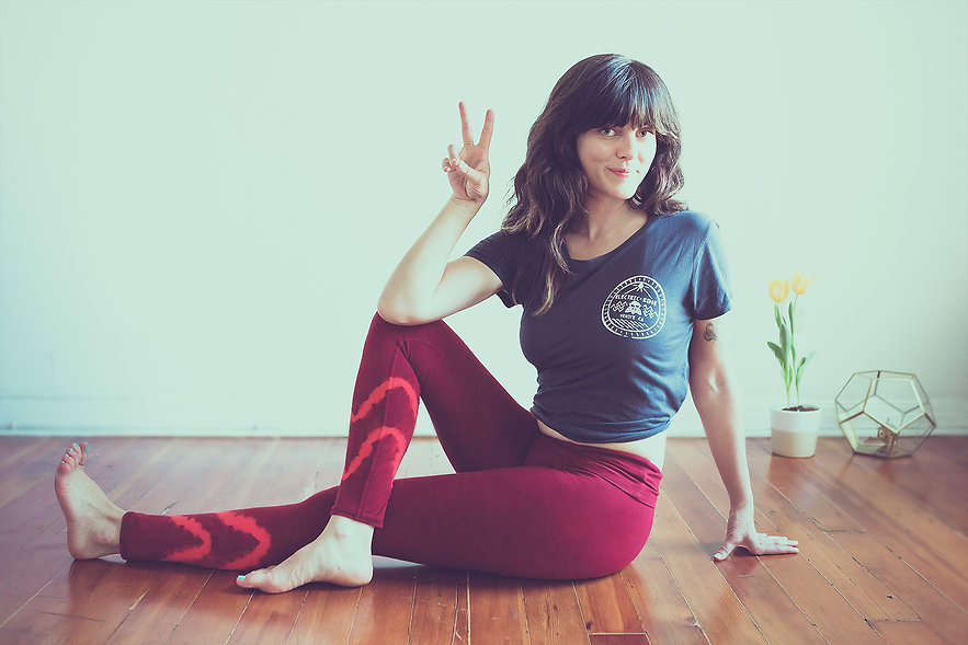 Kyle Cassie Photography, Electric and Rose Clothing, Yoga, Meditation, Balance By You, Mallory Glenn