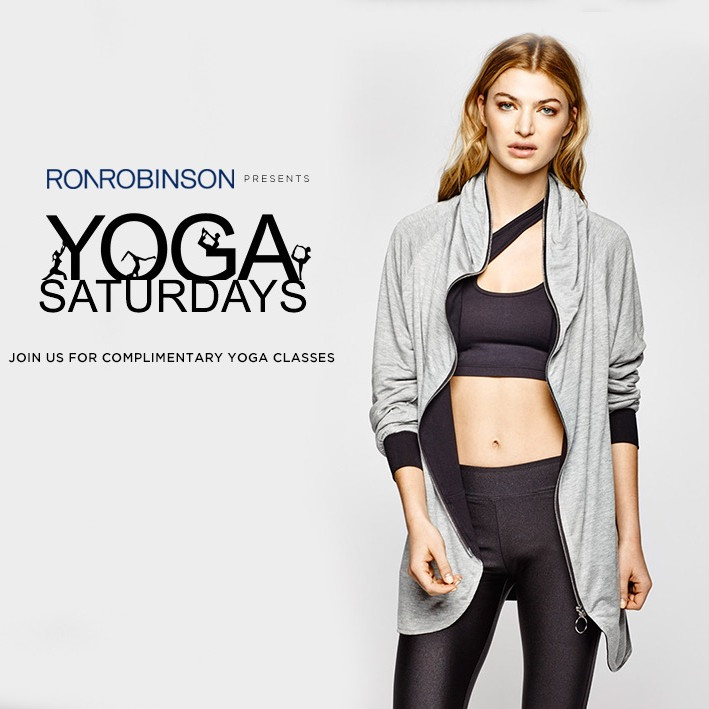 Ron Robinson presents YOGA SATURDAYS