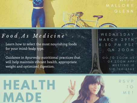 Food As Medicine FREE Virtual Workshop!