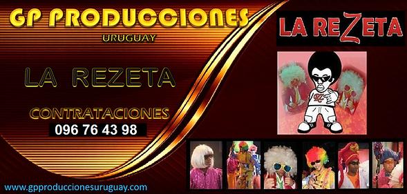 La Rezeta Uruguay Contratar Grupo La Rezeta Uruguay Contrataciones, Banda La Rezeta Contra
