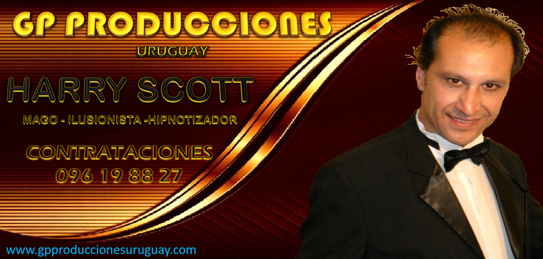HARRY SCOTT MAGO HARRY SCOTT URUGUAY CON