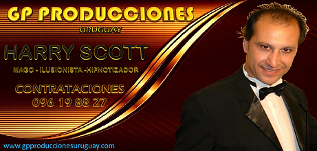 HARRY SCOTT MAGO HARRY SCOTT URUGUAY CON