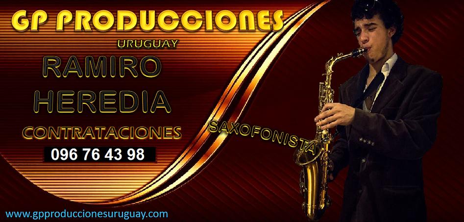Saxofonista Ramiro Heredia Saxofonista Uruguay, Saxofonistas Uruguay Ramiro Heredia Contra