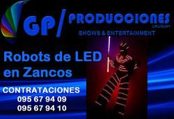 Robot Led Uruguay, Contratar