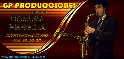 Saxofonista Ramiro Heredia Saxofonista U