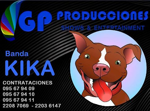 Banda KIKA Contrataciones Uruguay, Kika Banda Contrataciones Uruguay, Contratar KIKA Banda Uruguay,