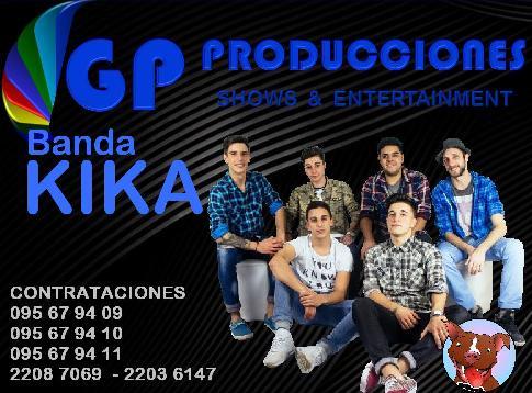 Banda Kika Banda Contrataciones Uruguay, Contratar KIKA Banda Uruguay, Banda KIKA Uruguay Contrataci