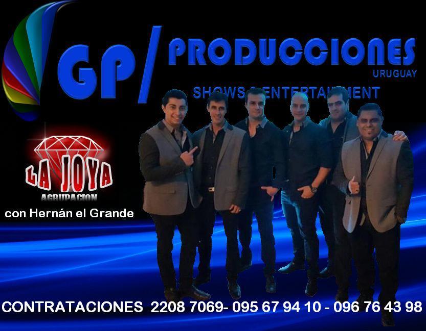 Agrupacion La Joya Uruguay, Contratar Agrupacion La Joya Uruguay, Hernan y Agrupacion la Joya Urugua