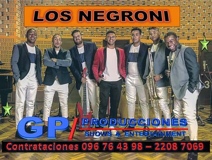 Los Negroni Contrataciones Uruguay, Cont