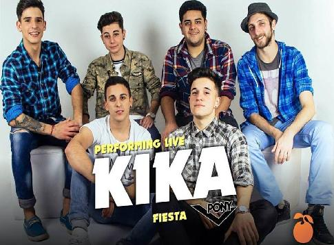 Kika Banda Contrataciones Uruguay, Contratar KIKA Banda Uruguay, Banda KIKA Uruguay Contrataciones,