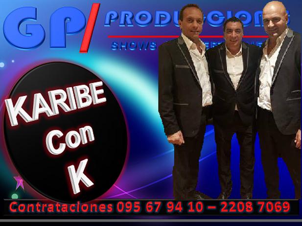Karibe con K Contrataciones Uruguay, Con