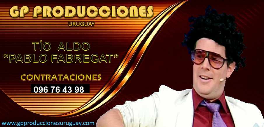Tio Aldo Contrataciones Uruguay, Contratar Tio Aldo Uruguay, Contratar Pablo Fabregat Urug