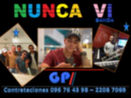 BANDA NUNCA VI CONTRATACIONES Uruguay, C