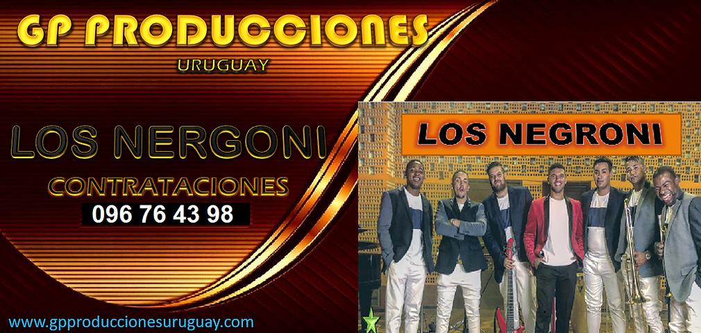 Los Negroni Contrataciones Uruguay, Contratar a Los Negroni Uruguay, Contrataciones Los Ne