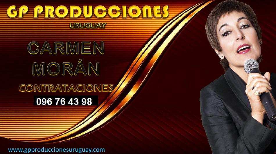 Carmen Morán Contrataciones Uruguay, Carmen Moran Cantante de Tangos Uruguay.png