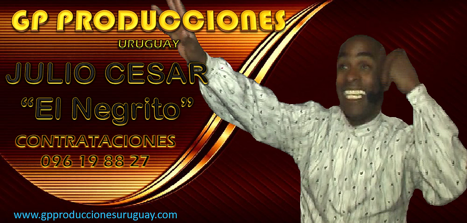 Julio César El Negrito Animador Contrata