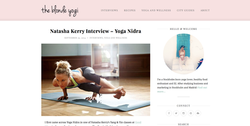 The Blonde Yogi Interview