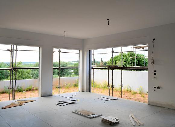 למכירה בית דו משפחתי חדש בגבעת עדה בנוי 200 מ״ר