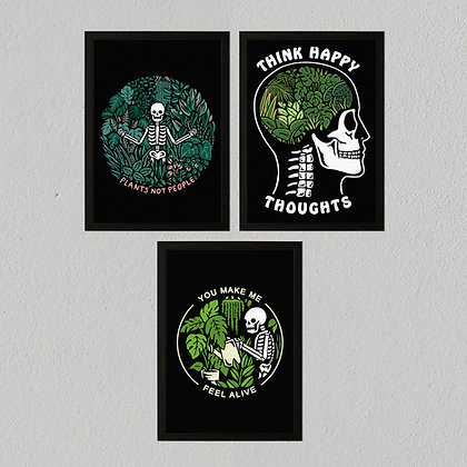 A3 Heavyweight Art Print Pack - Plants