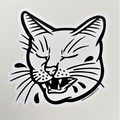CATSNEEZE Logo 10 cm Vinyl Sticker