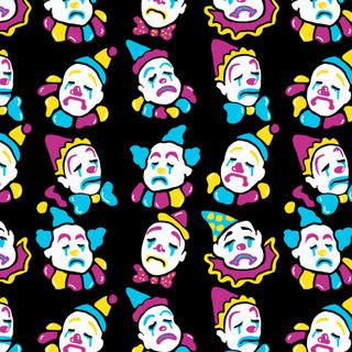 Sad Clown Pattern