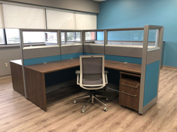 Desk And Chairs
