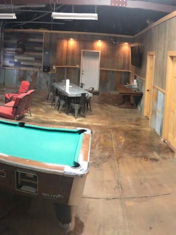 Garage Recreation Area