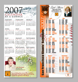 Real Estate Giveaway Calendars