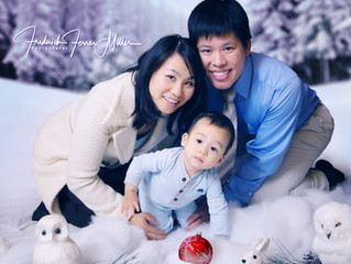 Alisha's, Han's, & Baby Orion's Holiday Photo Session