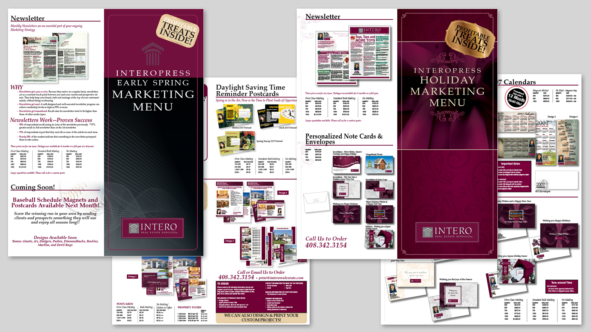 Interopress Marketing Materials