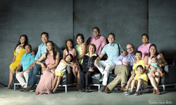 Ferrer Family Photo Composite
