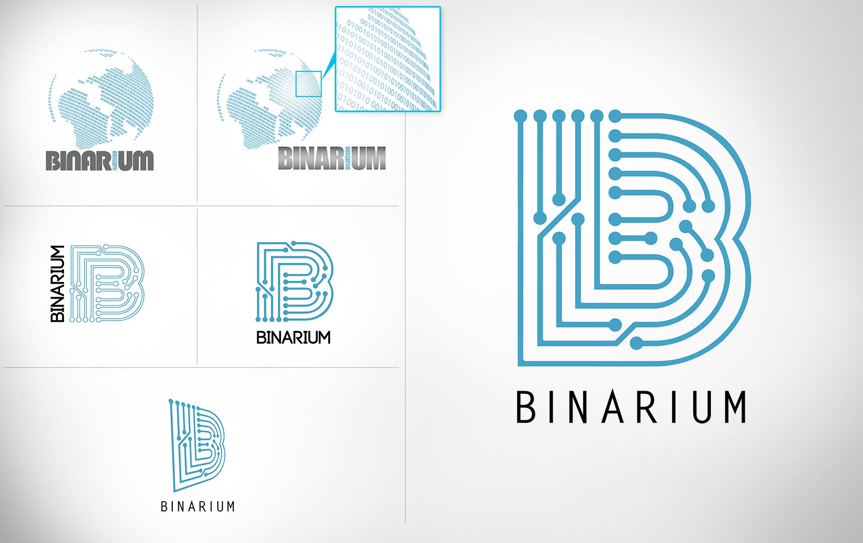 BINARIUM Logo Design