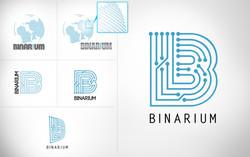 BINARIUM Logo Design