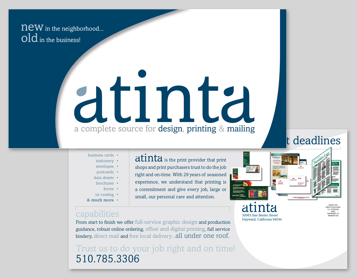 Atinta Marketing Materials