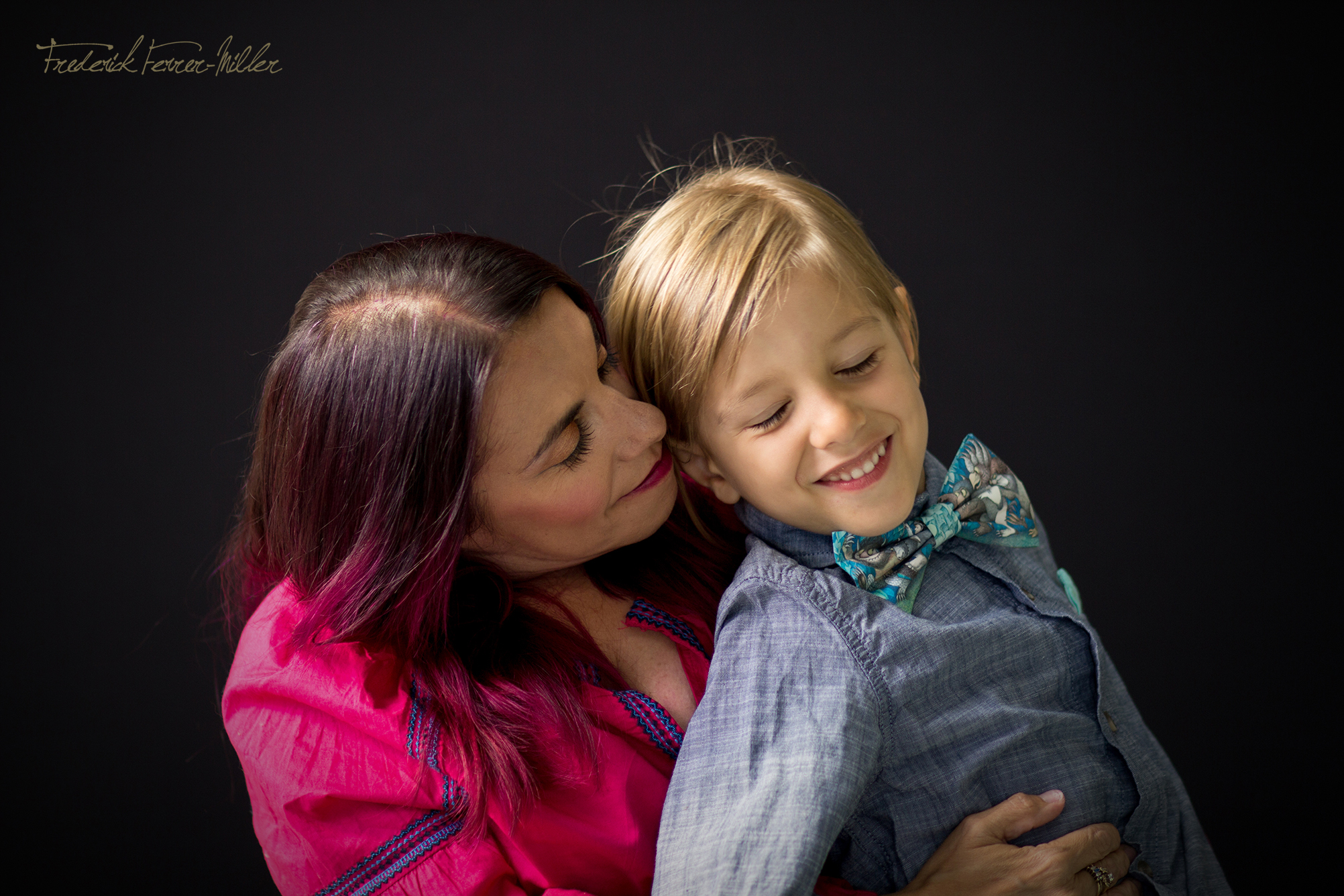 Dylan and Mattie: Mother & Son Photo