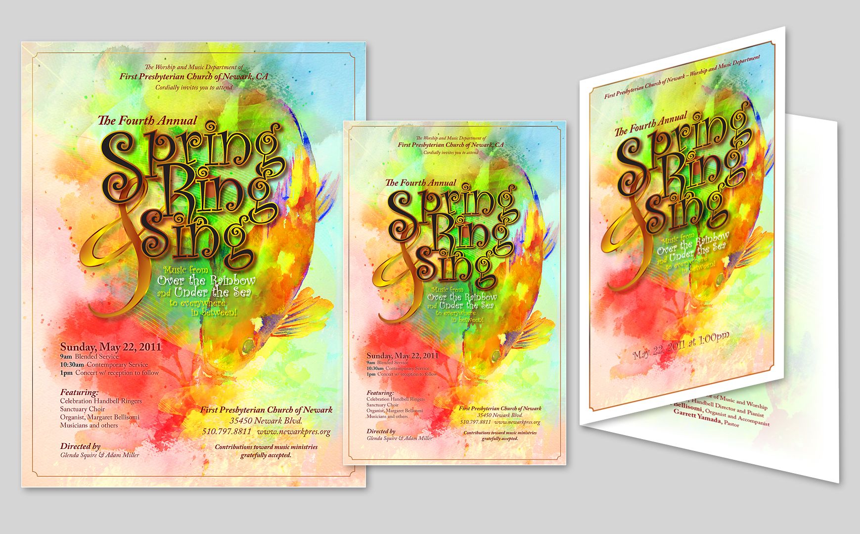 Spring, Ring, & Sing Advertisement
