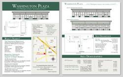 Washington Plaza Plan Advertisement