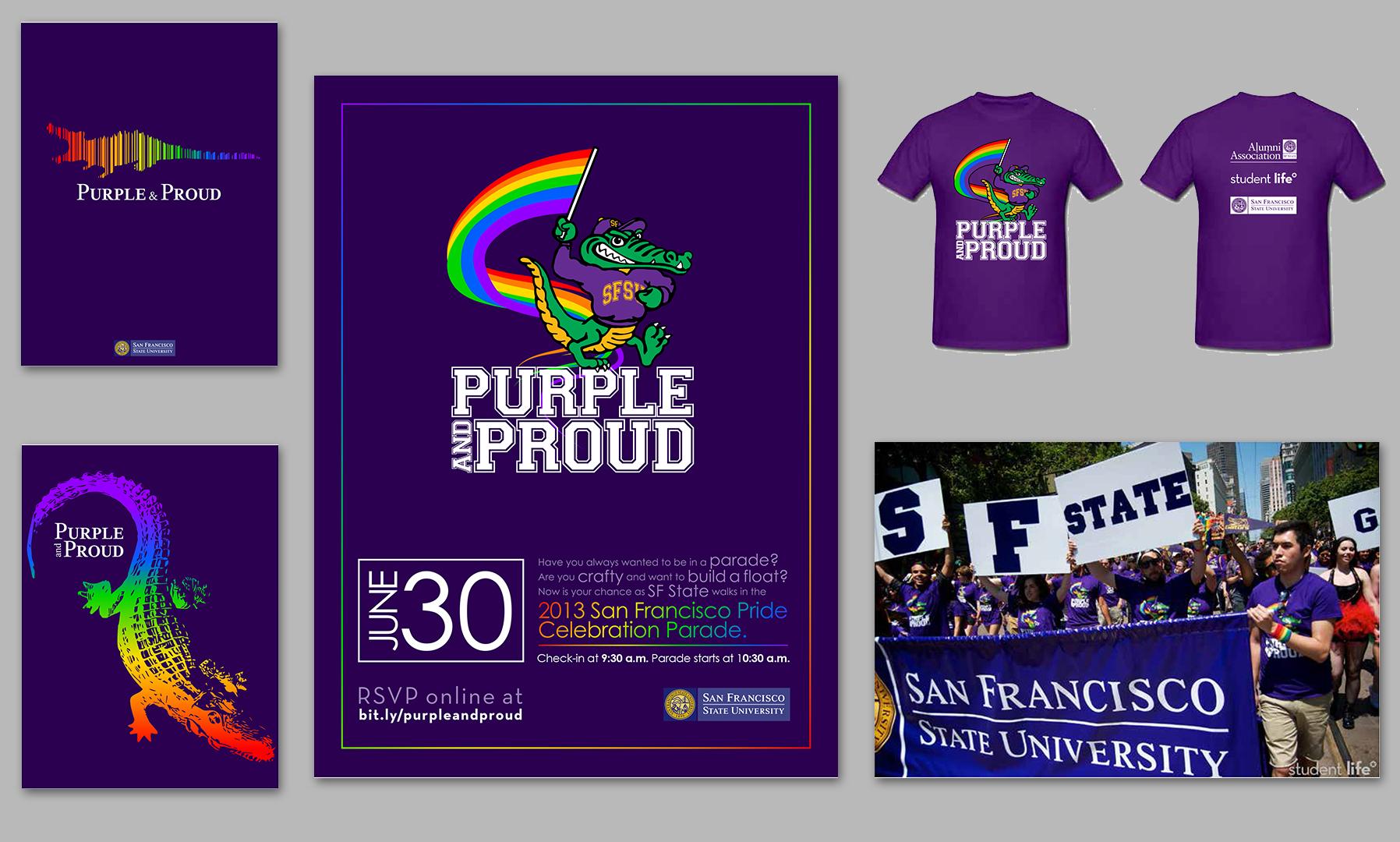 SFSU's Pride Parade 2013
