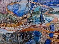 Horseshoe Lagoon April #2 165cm x 130cm