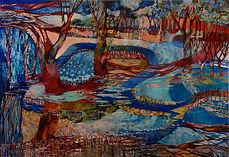 Horseshoe lagoon and the Murray river #1