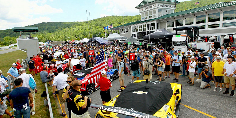 Lime Rock Parking Detail Friday