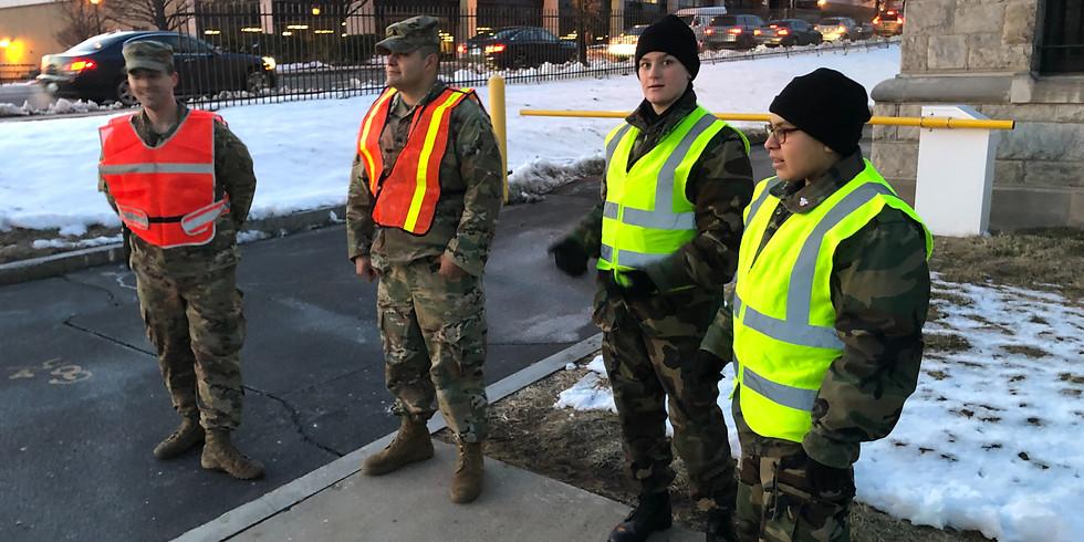CT National Guard Parking Detail